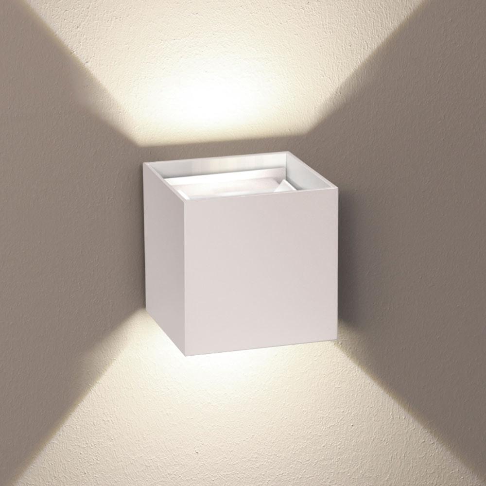 s.LUCE pro Ixa LED Innen- & Außen-Wandleuchte IP44 35
