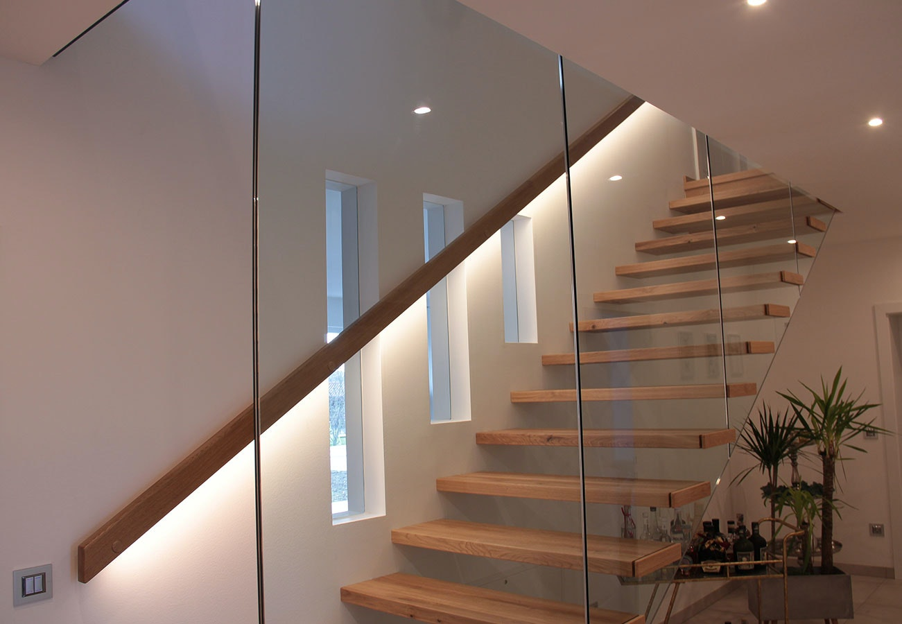 Handlaufbeleuchtung Treppe