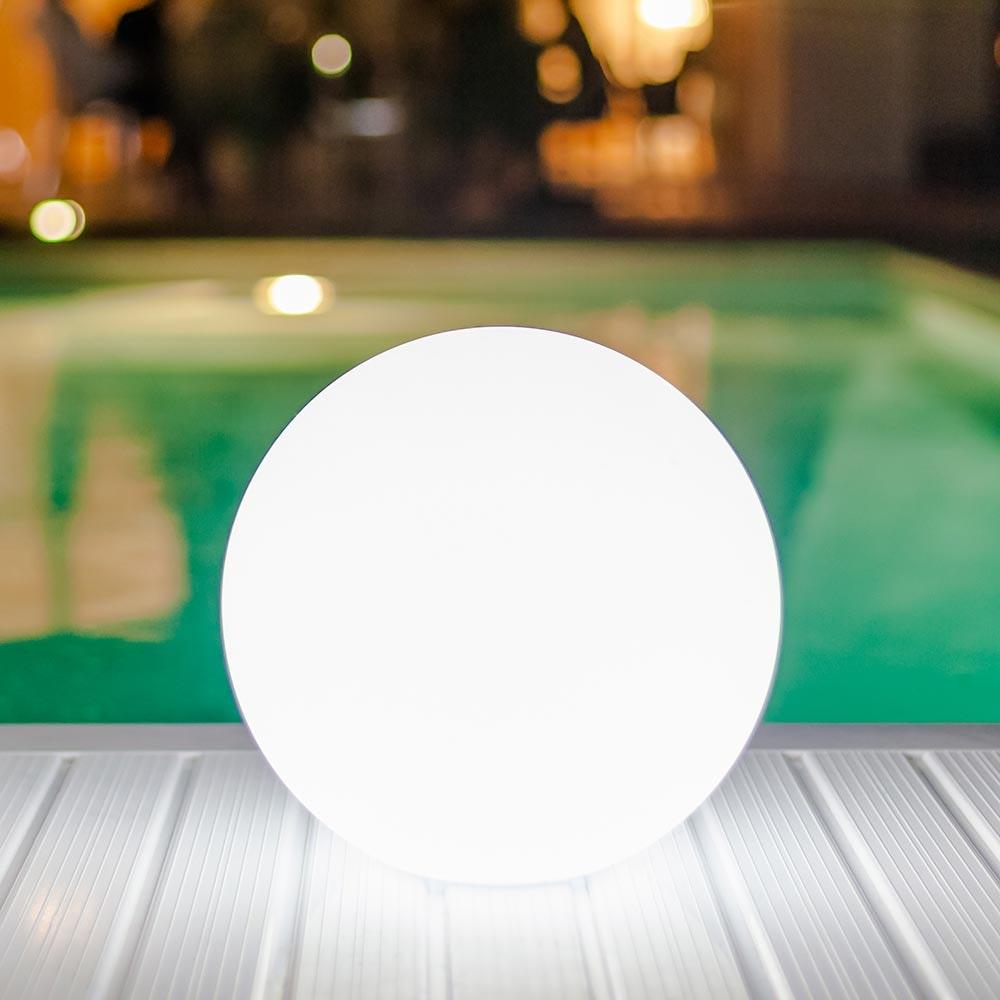 Kabellose LED-Outdoorlampe Pearl mit App-Steuerung