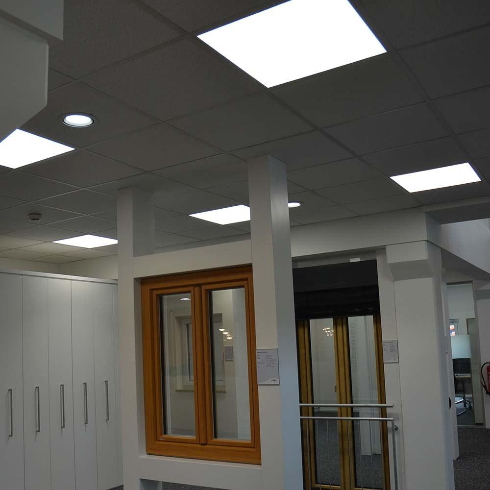 LED Panel rahmenlos 600 Neutralweiß dimmbar 5100lm Weiß 2