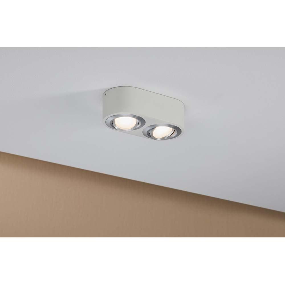 Wandleuchte Argun LED 2x4,8W Weiß Alu-Gebürstet 4