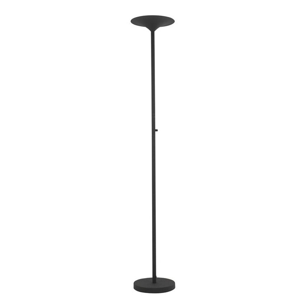 Nova Luce Rocco LED-Stehlampe Schwarz 3