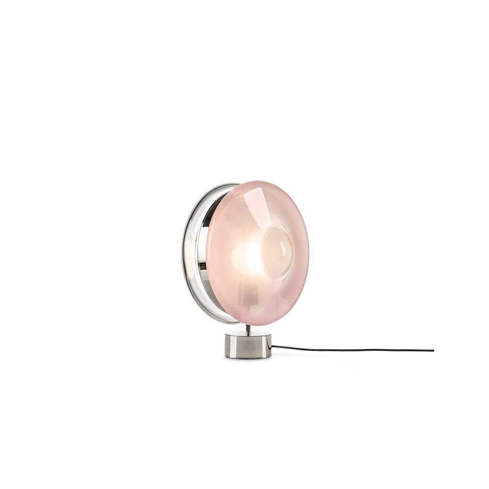 Bomma Glas-Tischlampe Orbital Ø 36cm 7