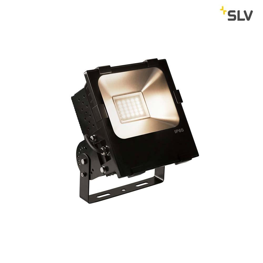 SLV Disos LED Outdoor Flutlicht Schwarz 3000K 100W IP65 1