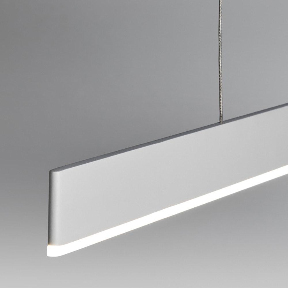 Licht-Trend LED Hängeleuchte Slim L dimmbar 3400lm Weiß 3