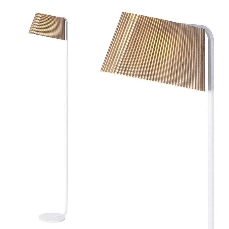 LED Stehleuchten Owalo 7010 aus Holz 168cm 8
