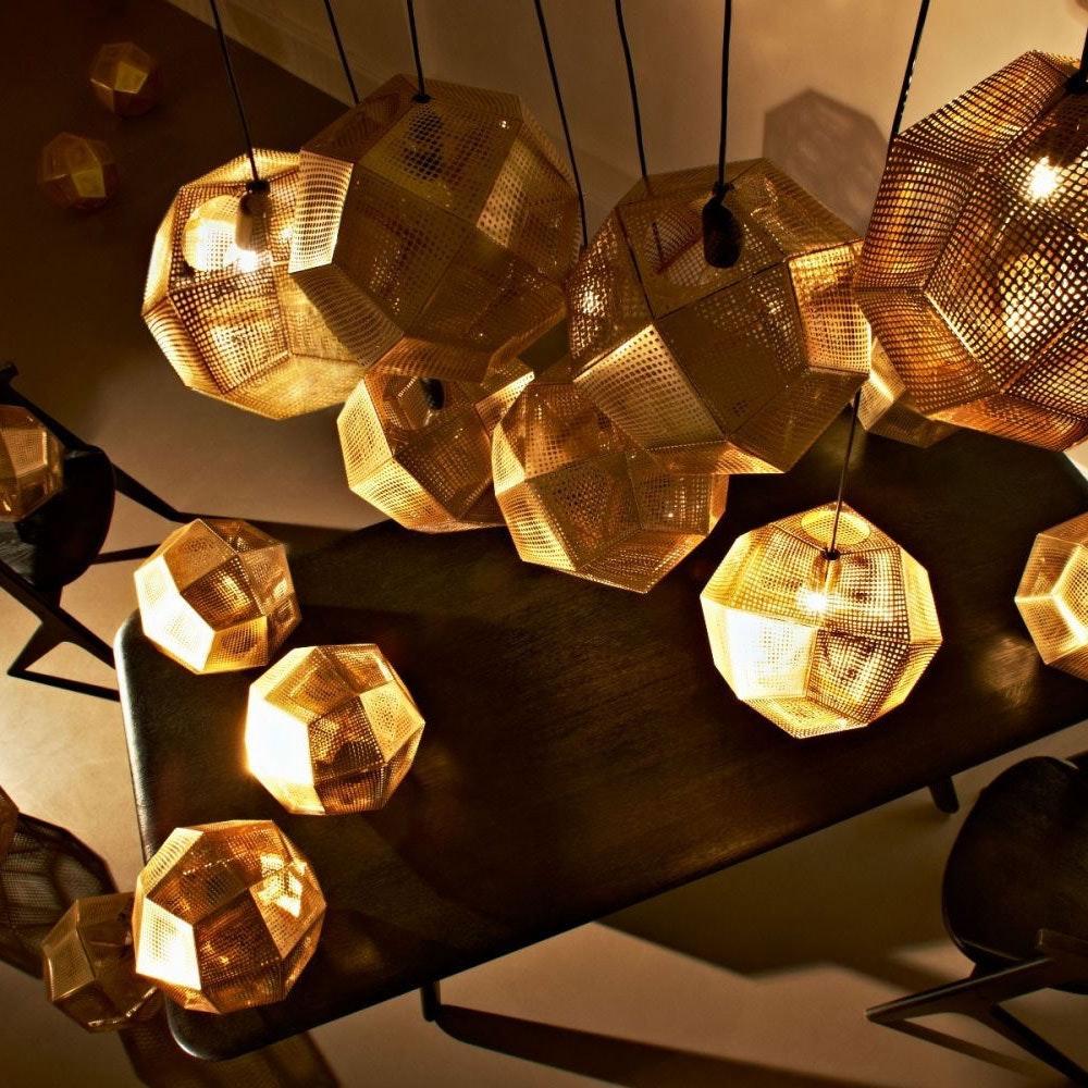 Tom Dixon Etch 5er Treppenhauslampe 2