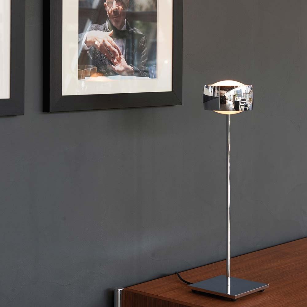 Oligo LED Tischlampe mit berührungslose Steuerung Grace Chrom