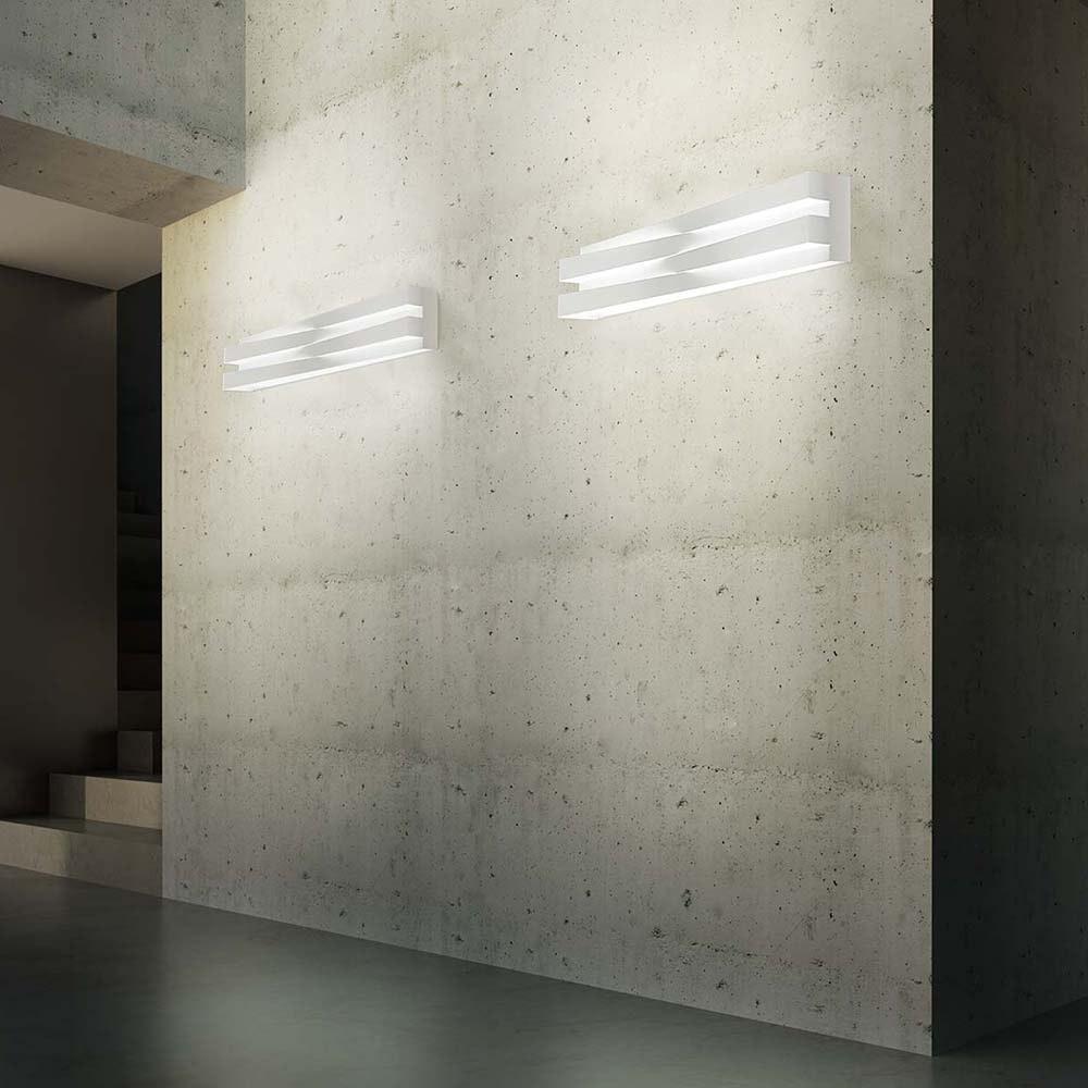 Panzeri Cross LED Wandlampe indirekt und direkt 8