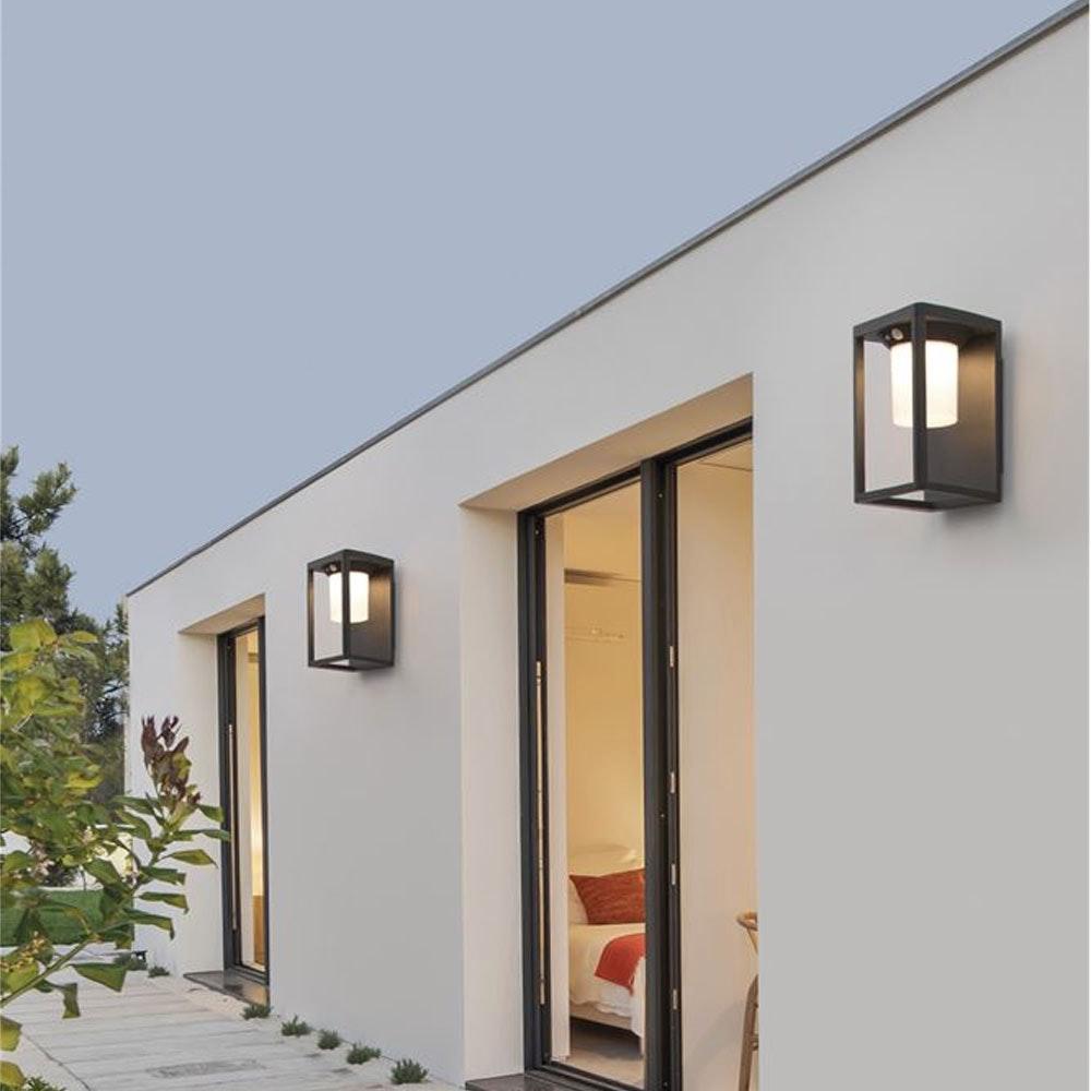 Nova Luce Loveto Wand Solarleuchte mit Bewegungsmelder 1