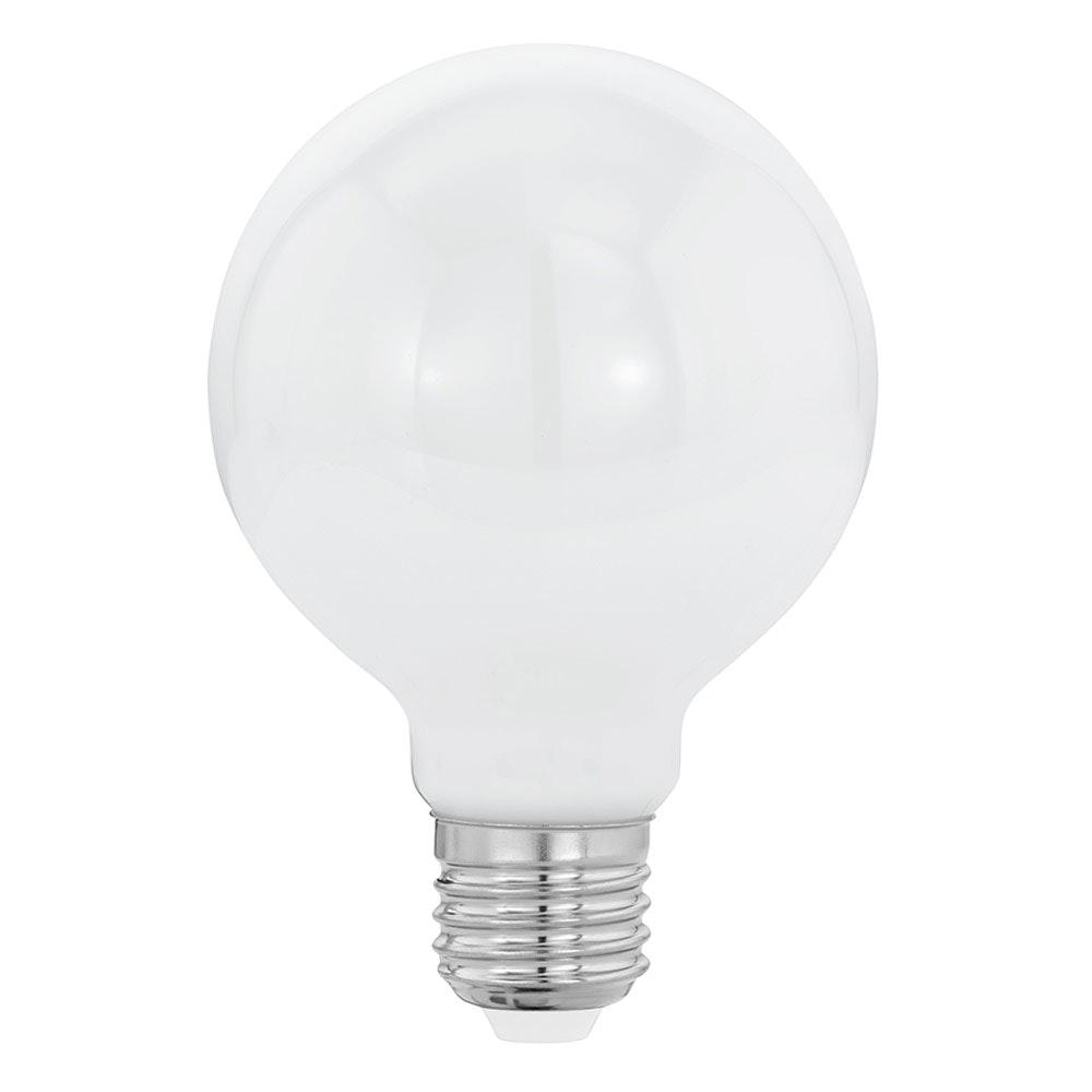 E27 LED Glühbirne Milky Ø 8cm 8W, 806lm Warmweiß