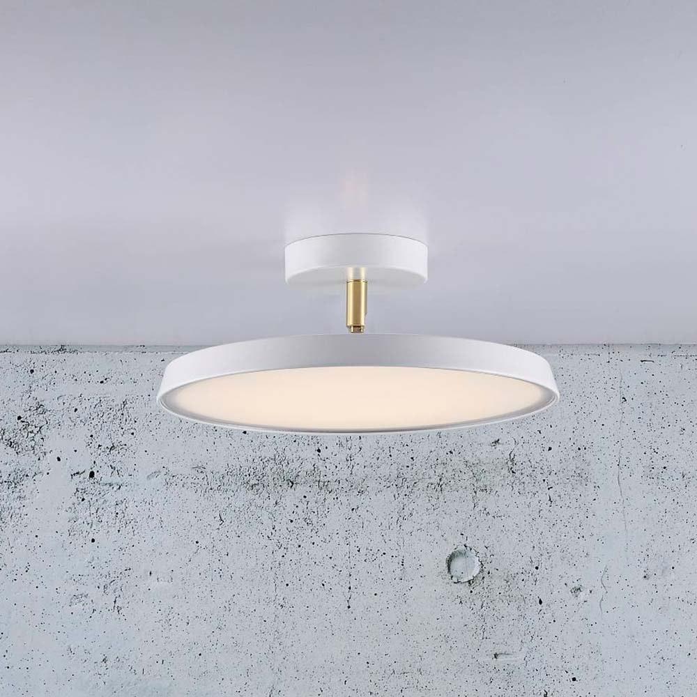 Design for the People LED Deckenleuchte Alba Pro 30 Weiß, Opal Weiß 5