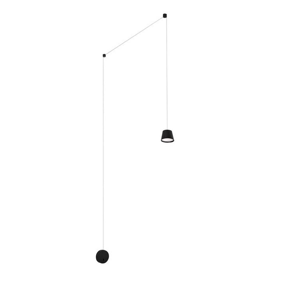 Nova Luce Amadeo Pendelleuchte mit Wandanschluss variabel 1