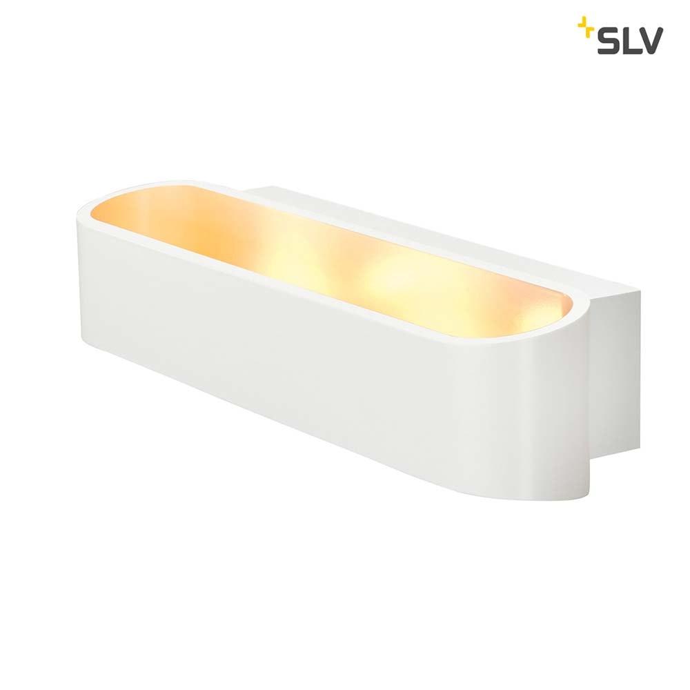 SLV Asso 300 LED Wandleuchte Weiß 2000K-3000K Dim To Warm 3