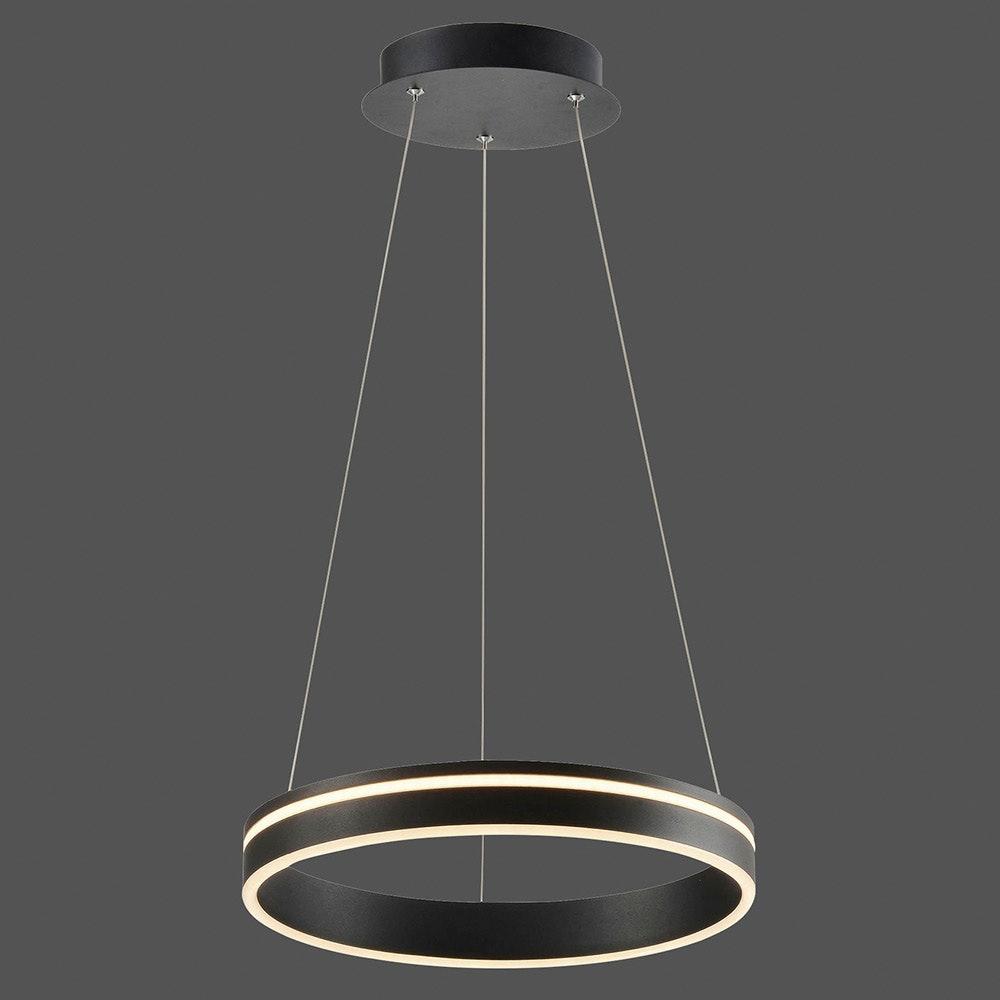 LED Pendelleuchte Q-Vito Ø 40cm CCT Anthrazit thumbnail 4
