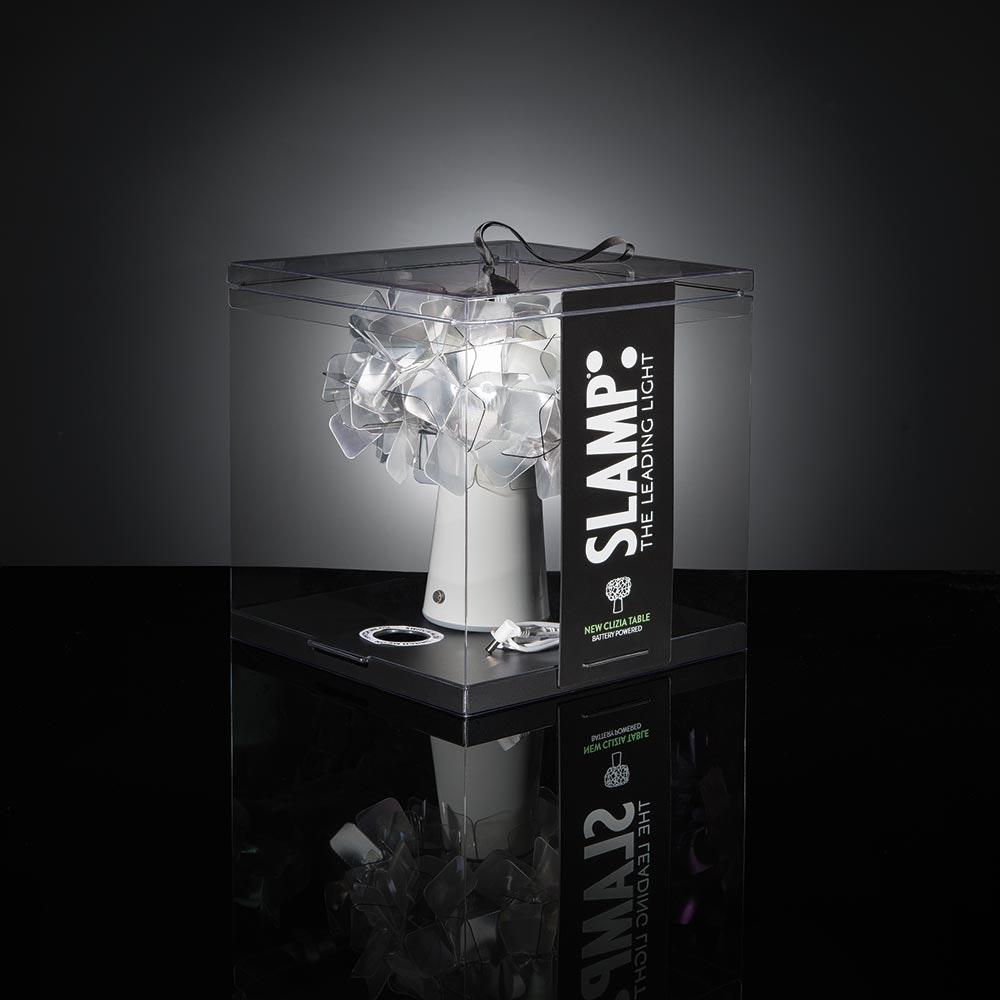 Slamp LED Akku-Tischlampe Clizia  1