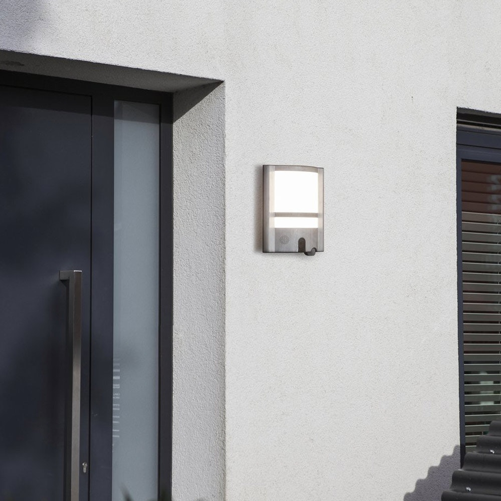 Vesta LED-Außenwandleuchte mit Kamera 1350lm Anthrazit thumbnail 3