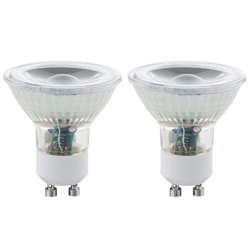 GU10 LED 2er-Set 5W 400lm Warmweiß