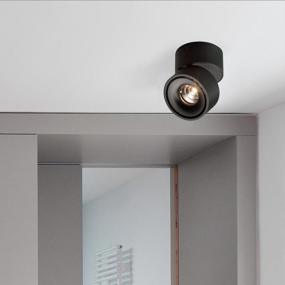 Licht-Trend LED Aufbaulampe Simple 680lm Schwarz