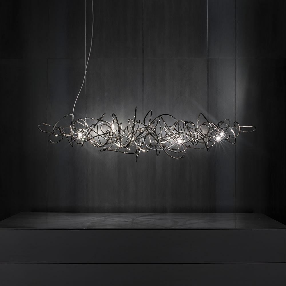 Terzani Doodle Design-Esstischlampe 135cm 1