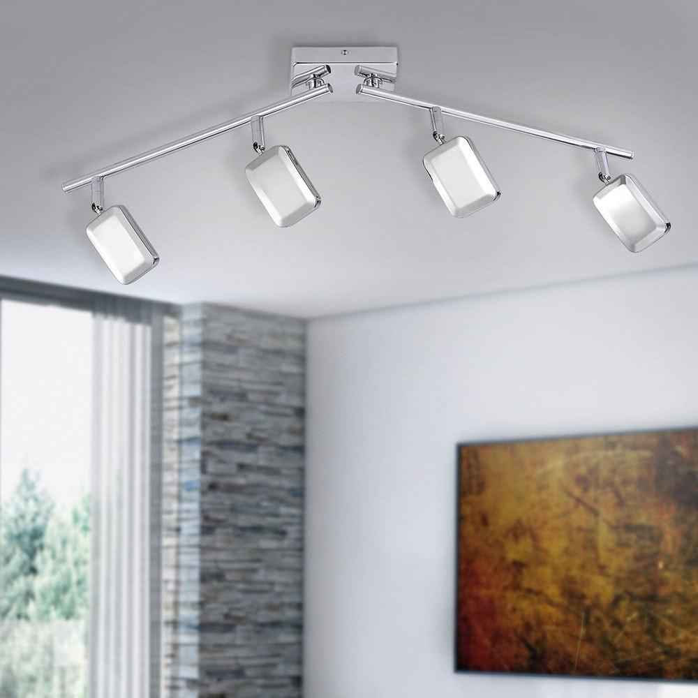 Wella LED Deckenleuchte schwenkbar 4x 4,20W 3000K Chrom 2