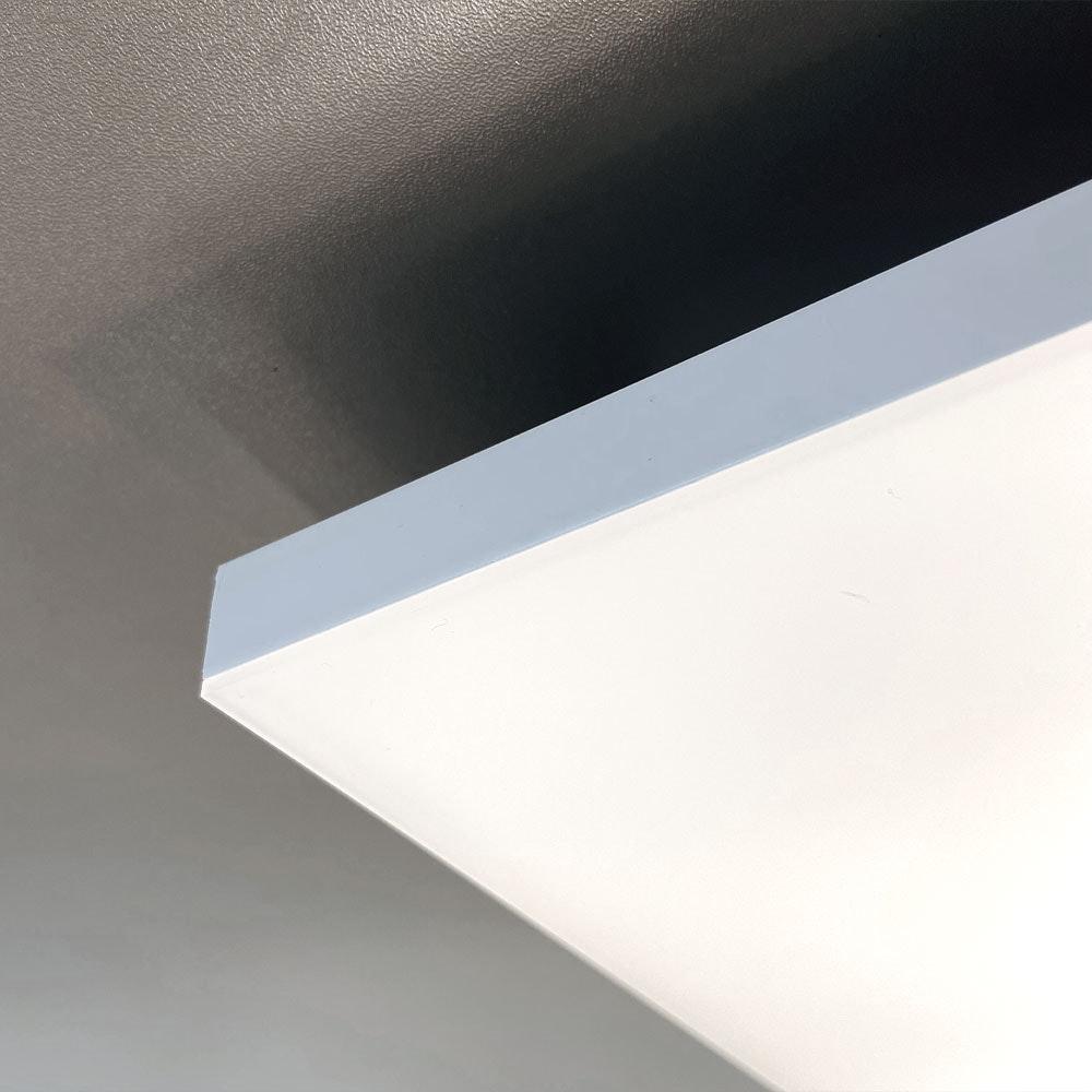 Q-Flat 2.0 rahmenloses LED Deckenpanel 60 x 60cm 3000K 7