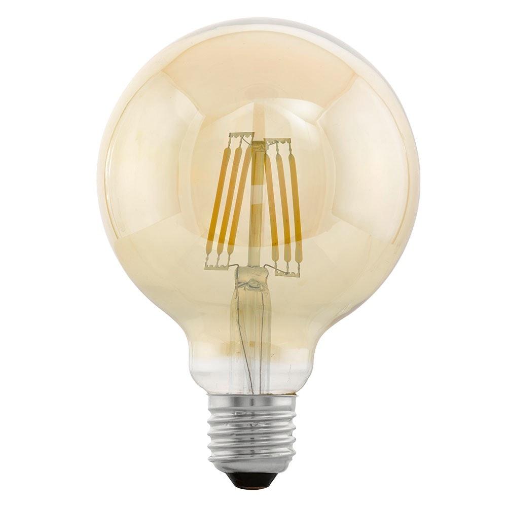E27 LED Vintage Globe Ø 9,5cm 4W, 320lm Extra Warmweiß