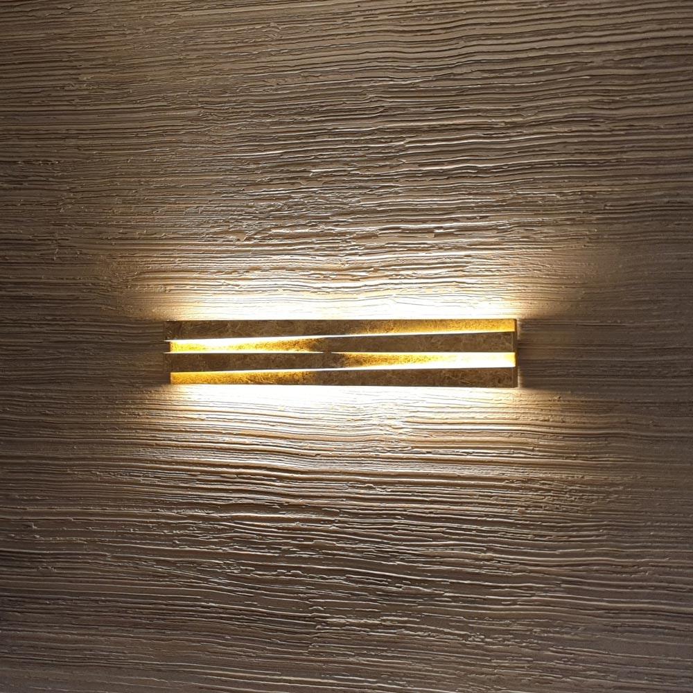 Panzeri Cross LED Wandlampe indirekt und direkt thumbnail 3