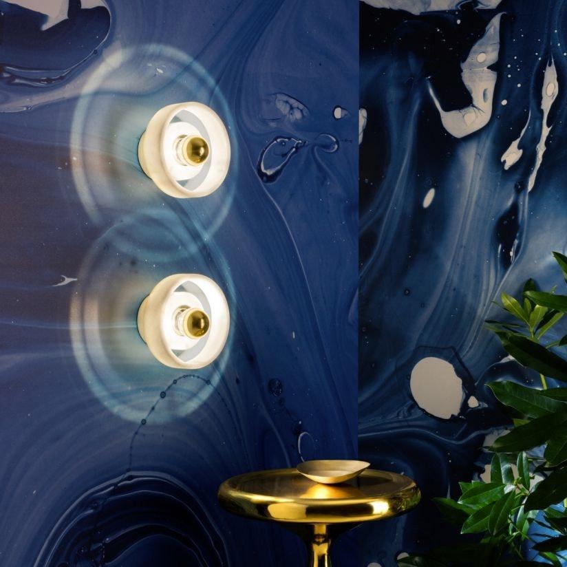 Tom Dixon Stone Wandlampe aus Marmor 1