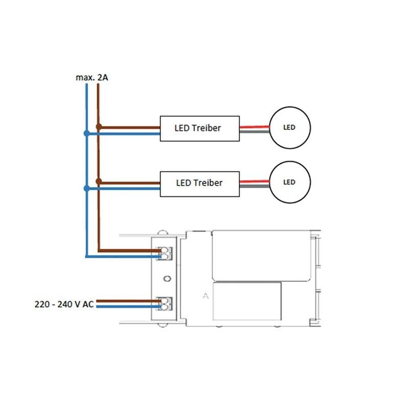 CASAMBI V2 Modul Power Controller Phasenabschnitt max. 460W  2
