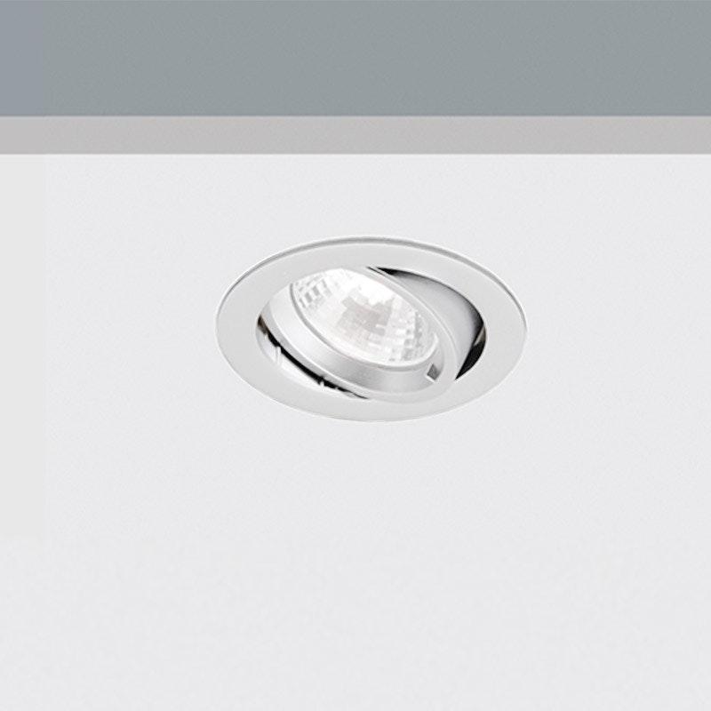 Kiteo LED Decken-Einbaustrahler K-Motus Rund HCL Dali DT8 1