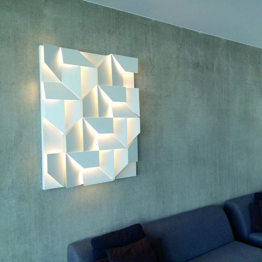 Nemo Wall Shadows Grand LED Wandlampe 120x90cm 5