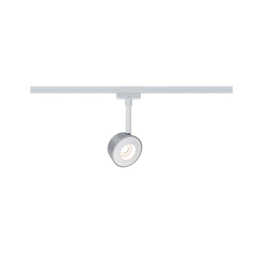 URail Systems Spot Pellet 1x4W Weiß Chrom dimmbar 2