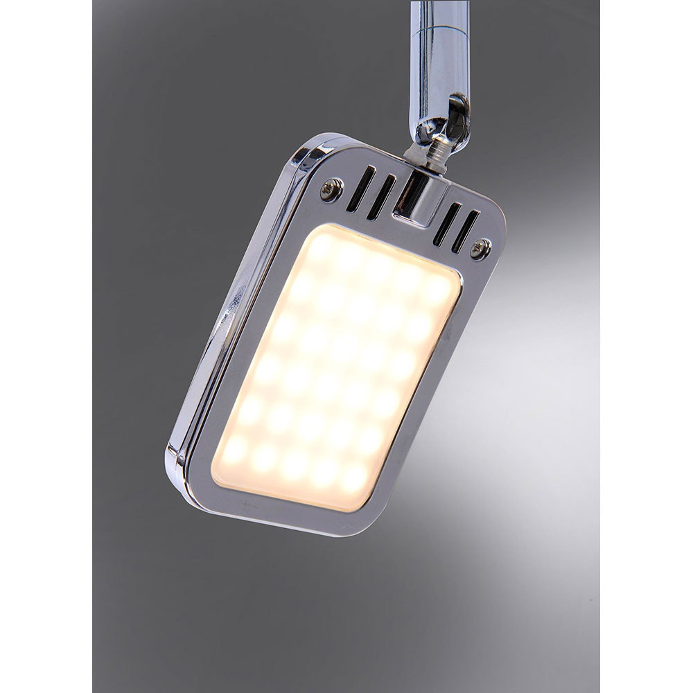 Wella LED Deckenleuchte schwenkbar 6x 4,20W 3000K Chrom 2