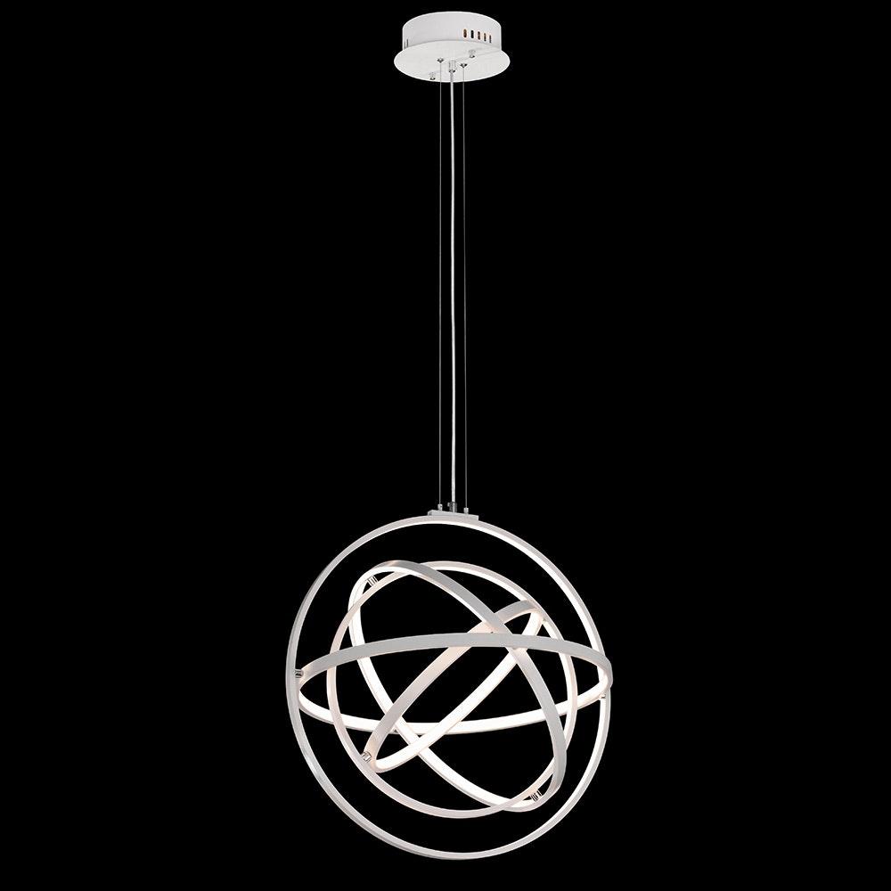 Mantra Orbital LED-Pendelleuchte Fernbedienung Weiß 5
