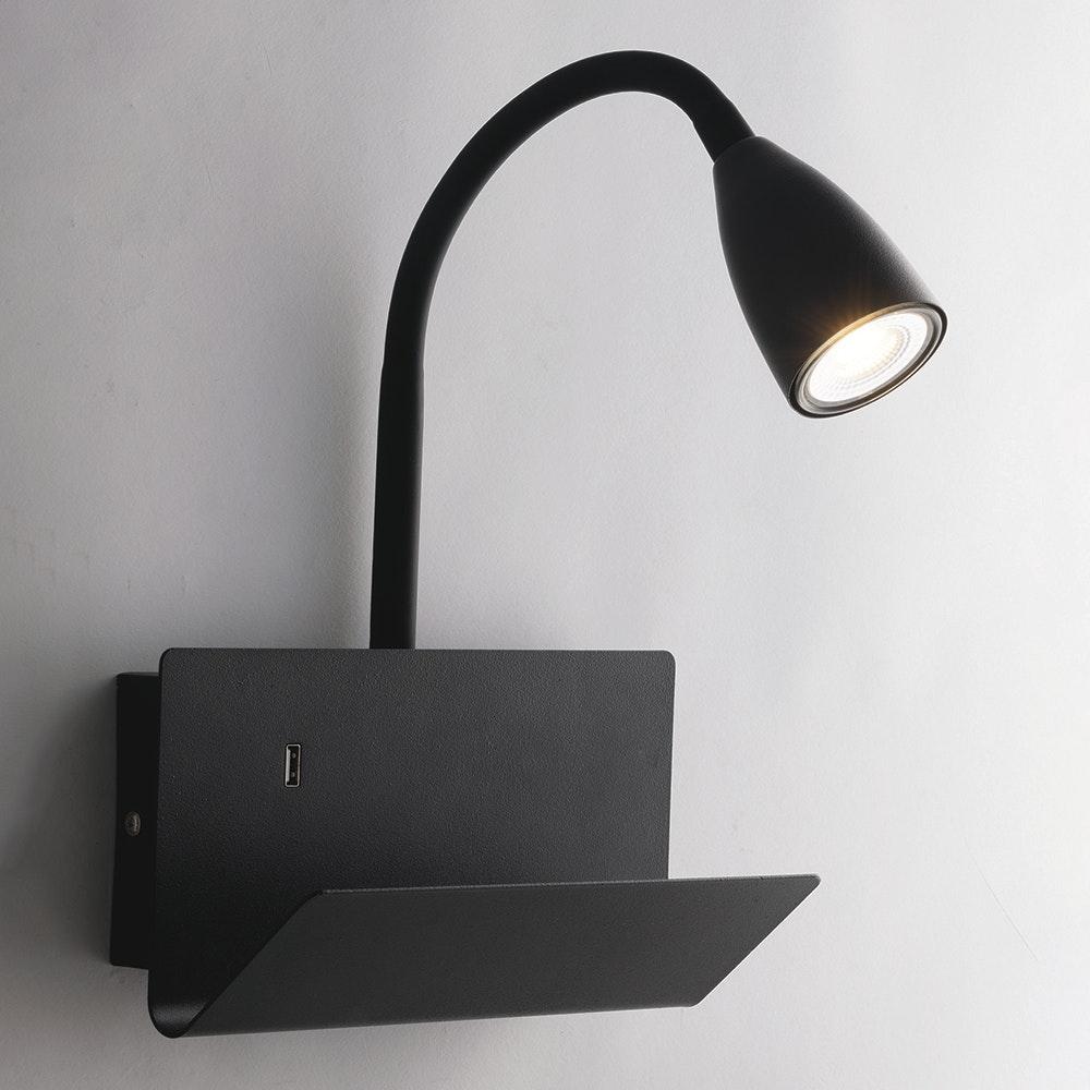 Wandleuchte Gulp mit USB-Ladefunktion 3