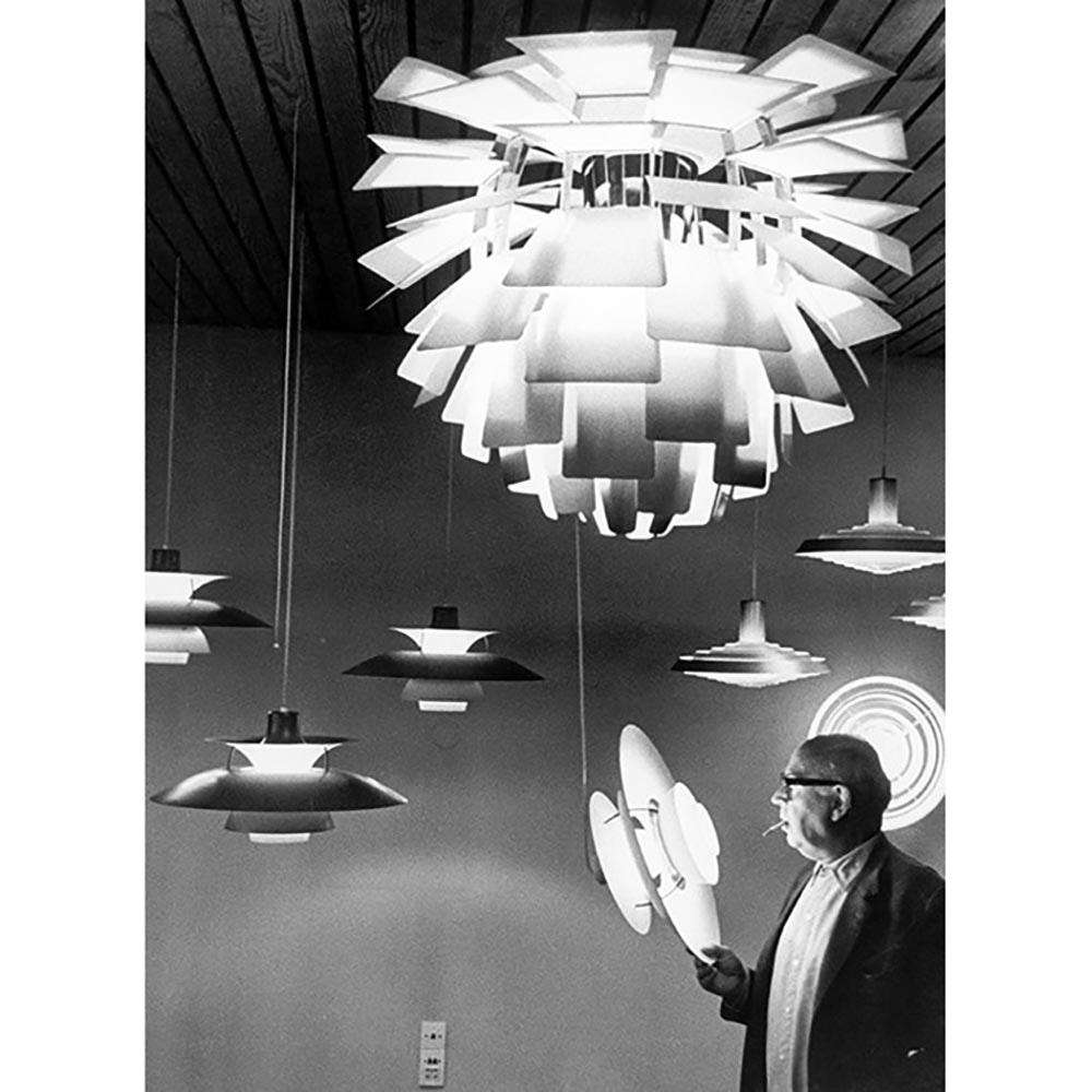 Louis Poulsen LED Hängelampe PH Artichoke Glas Sandgestrahlt thumbnail 3