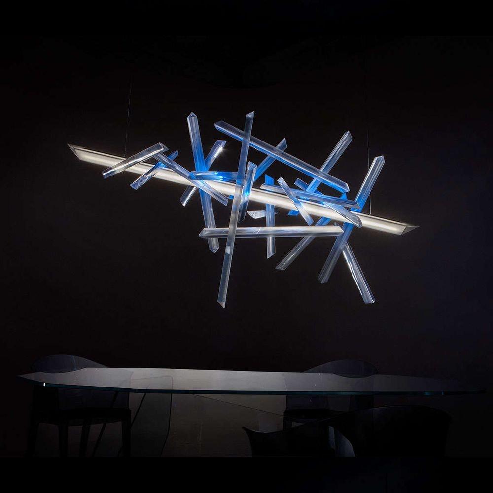Slamp LED Hängelampe La Traviata Lichtskulptur 1