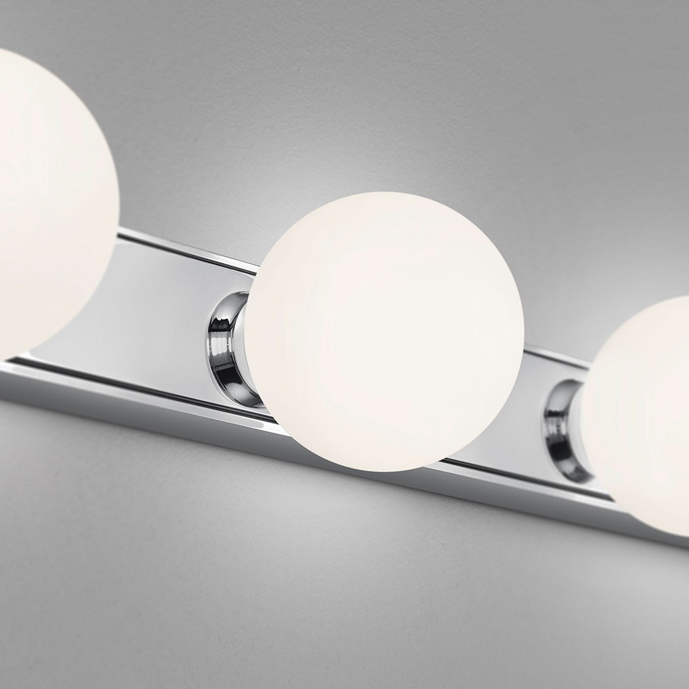 Helestra LED Bad Wandlampe Lis 20 flammig Chrom