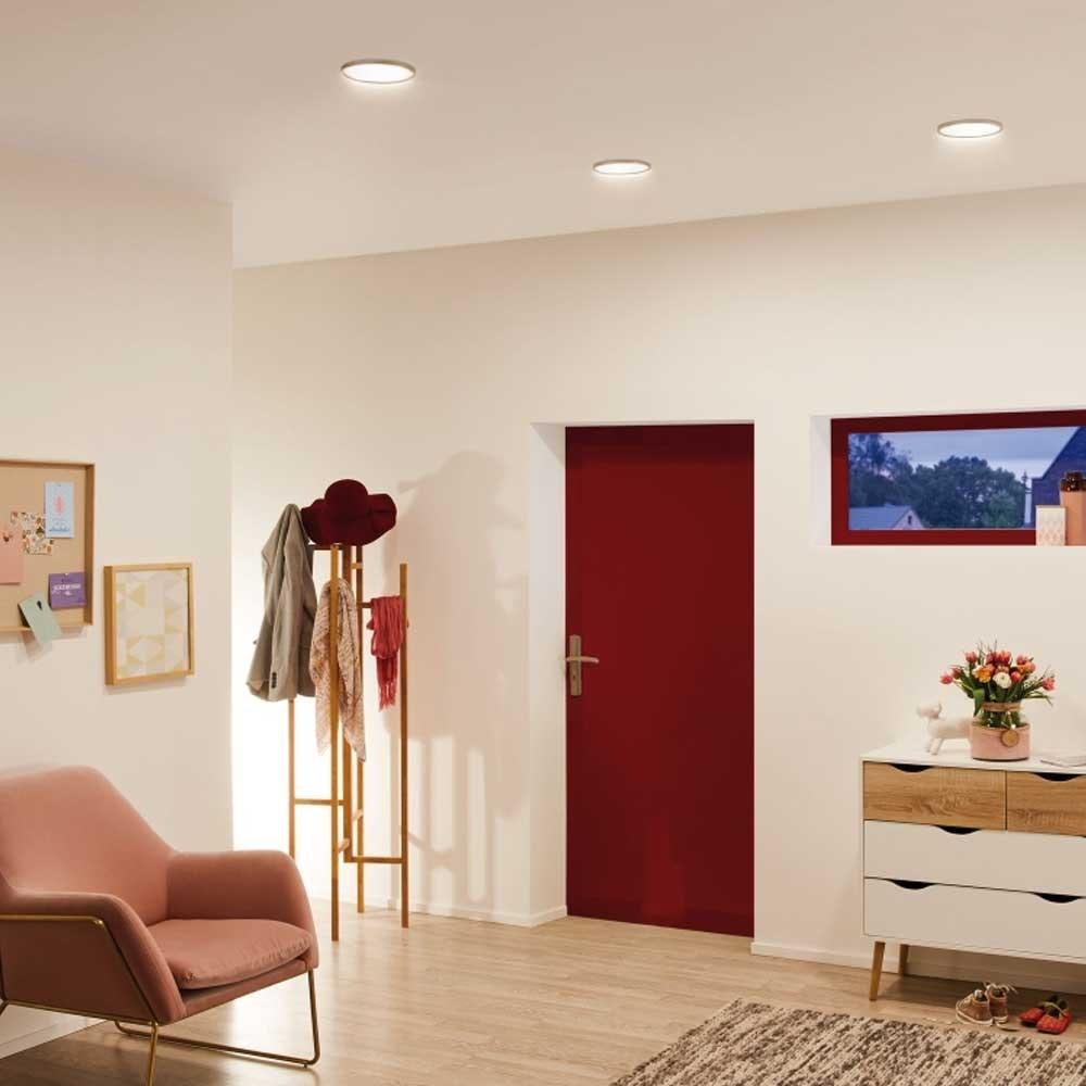 Einbau LED-Panel Ø 17,5cm Flex 15W Ausschnitt 5-16cm warmweiß 4