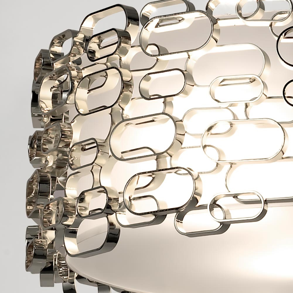 Terzani Glamour Design-Hängelampe Ø 45cm 3