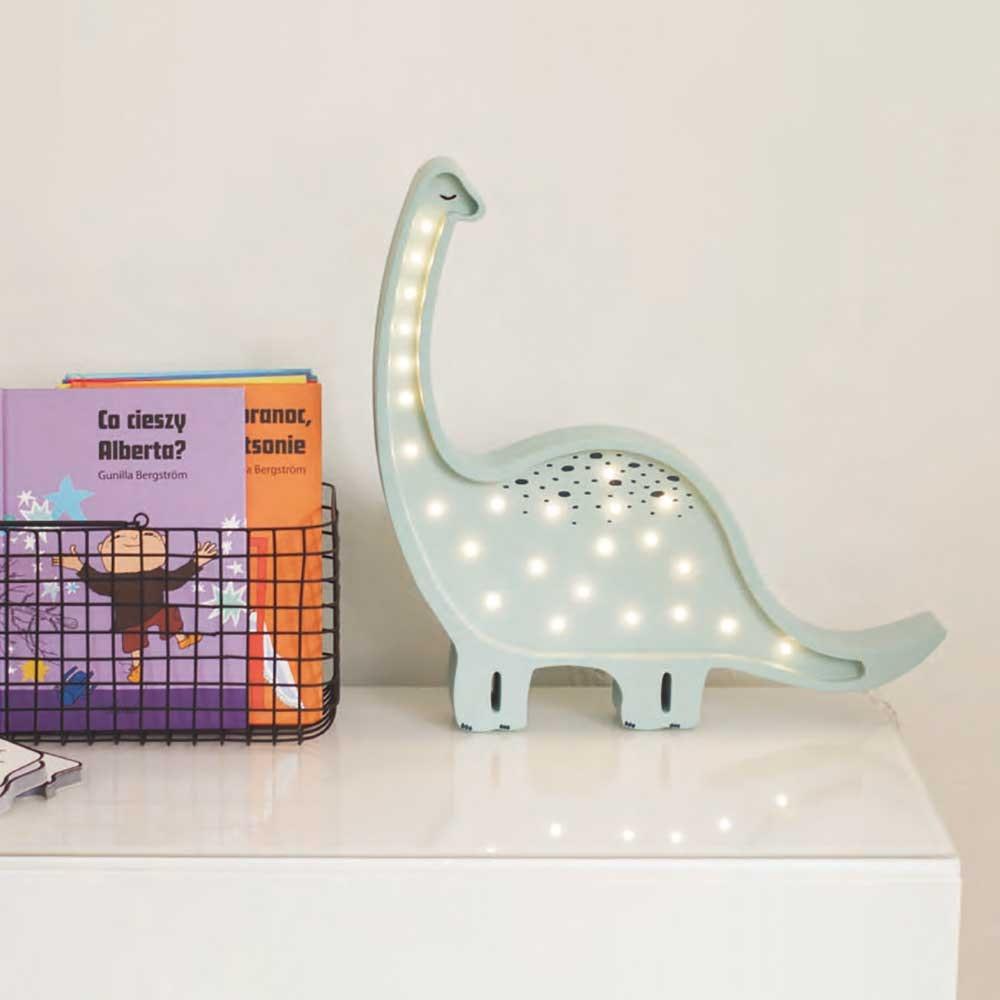 Little Lights Kinder Wand- & Tischleuchte Dino Diplodocus  2