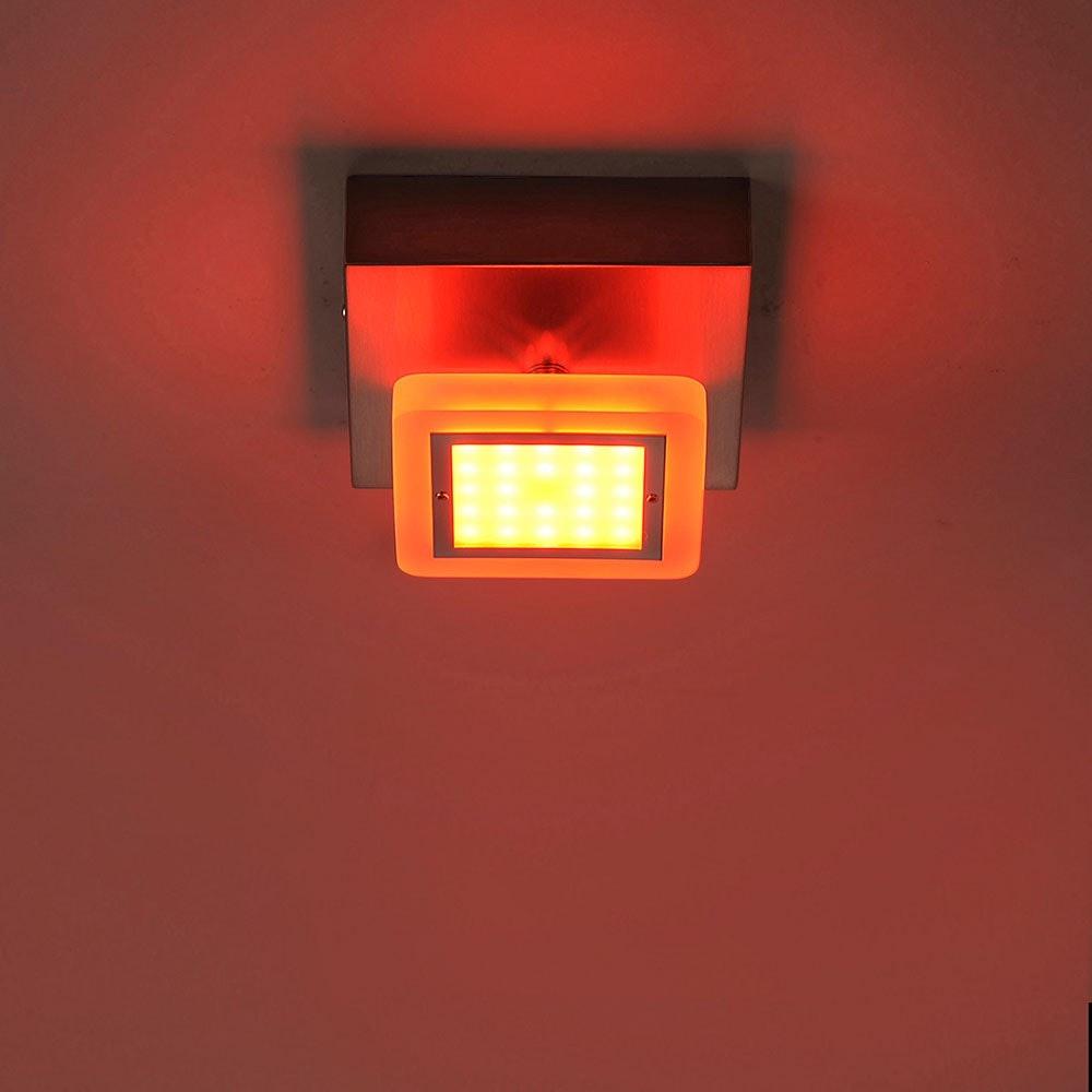 LED Deckenlampe Q-Vidal Kugelgelenk 4, 80W RGBW thumbnail 6