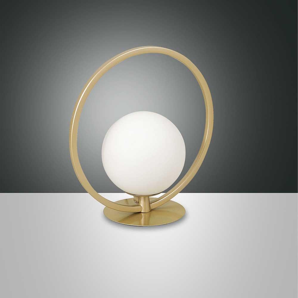 Fabas Luce LED Tischlampe Sirio Rund 4