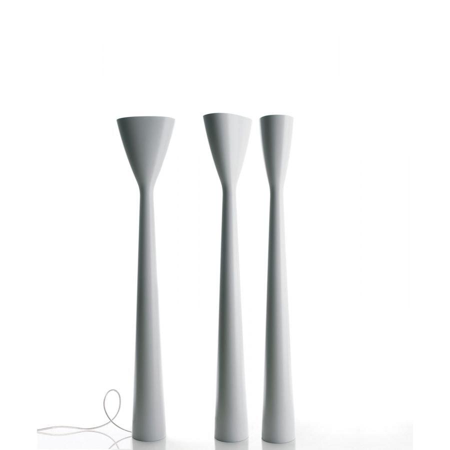 Luceplan LED Stehleuchte Carrara 185cm 7