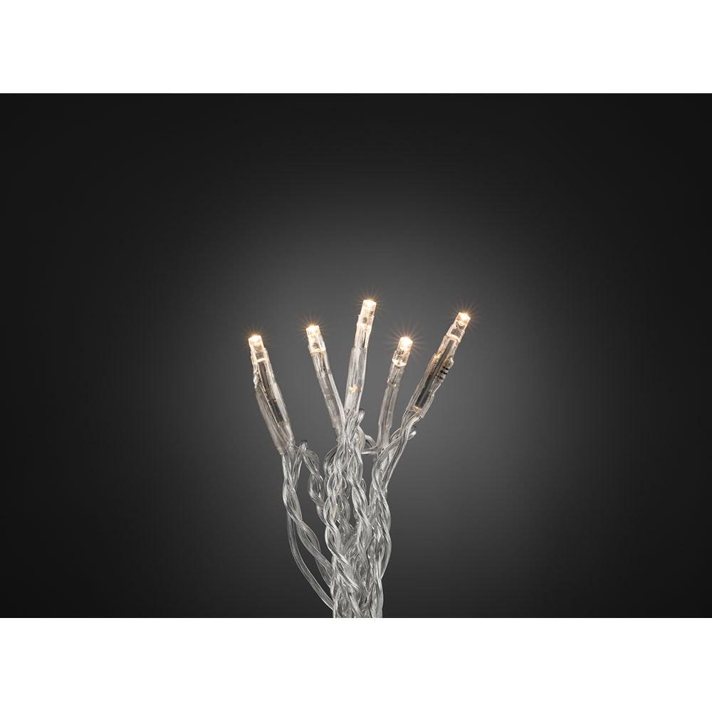 Micro LED Lichterkette 10 Warmweiße Dioden