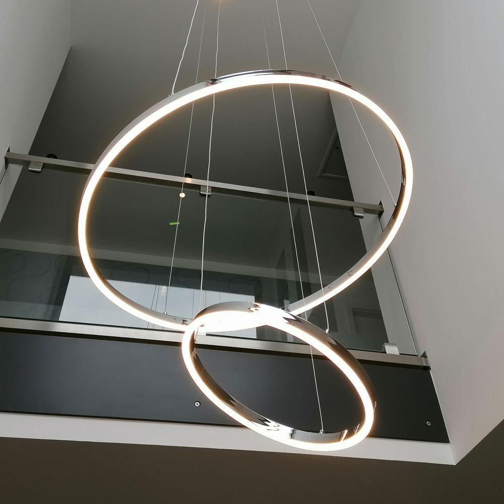 s.LUCE Ring Umbau zentrisch / exzentrisch (ohne LED-Ringe) 8