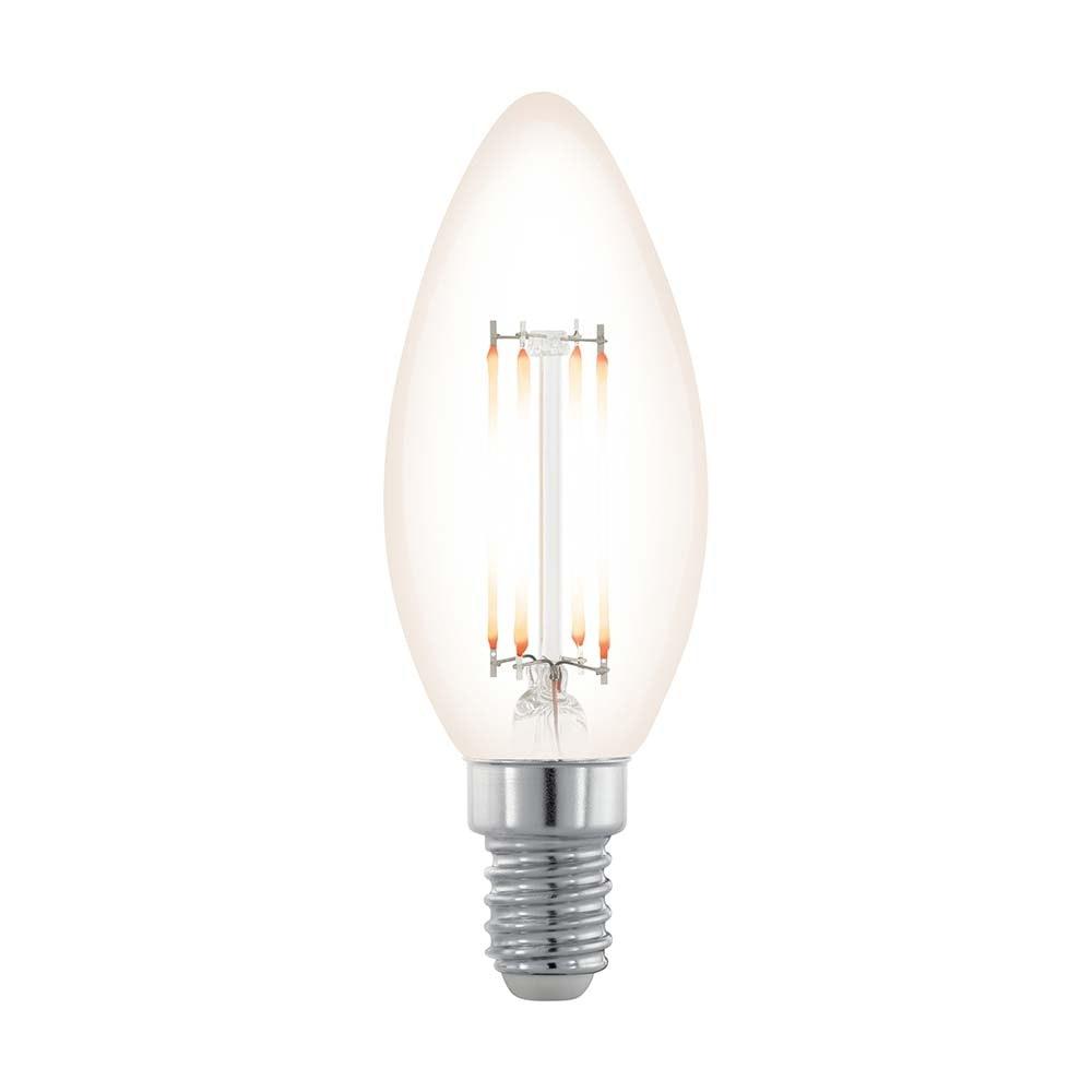E14 Filament LED Kerze 3,5W Klar 2200K