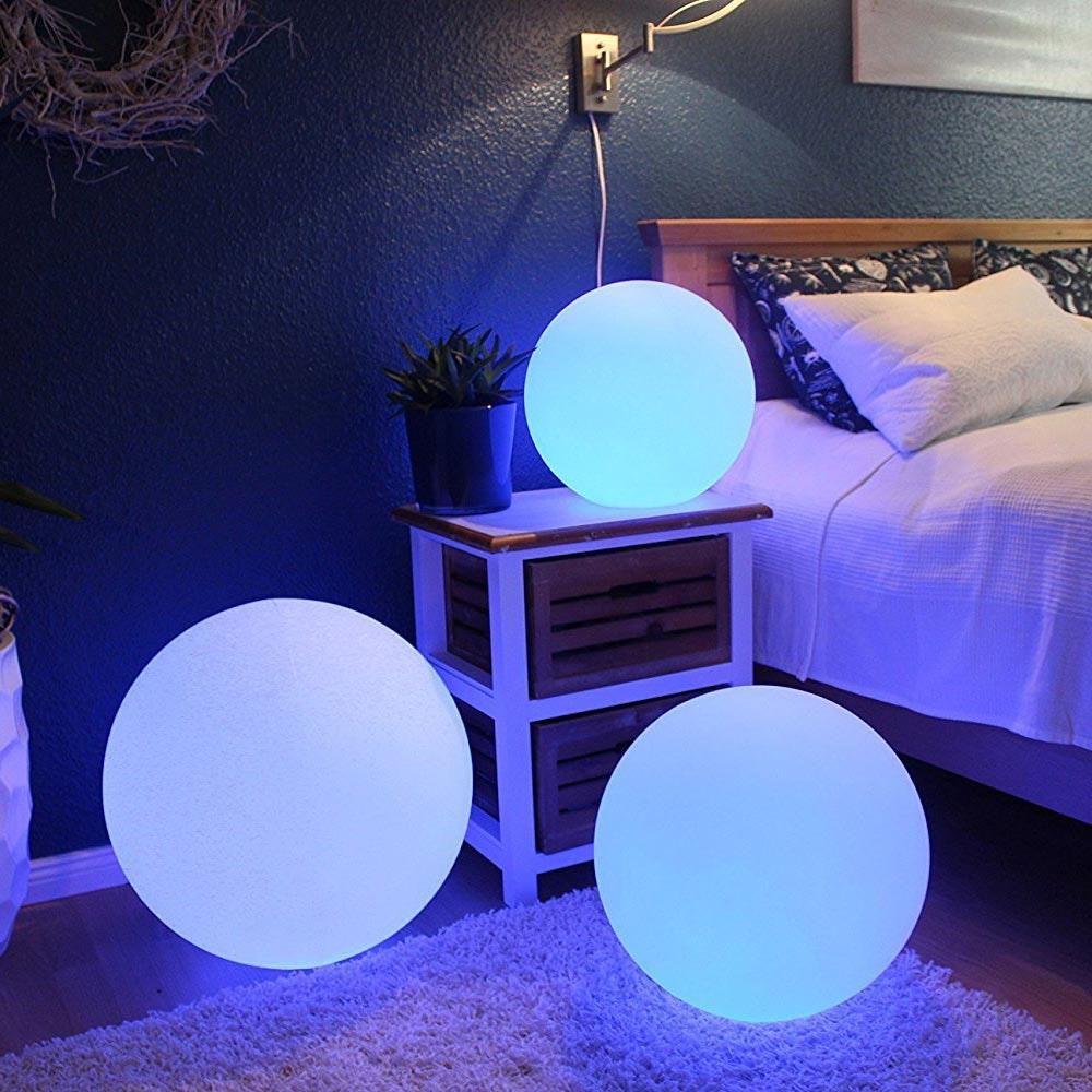 Akku LED-Kugellampe Globe 50cm mit App-Steuerung thumbnail 3