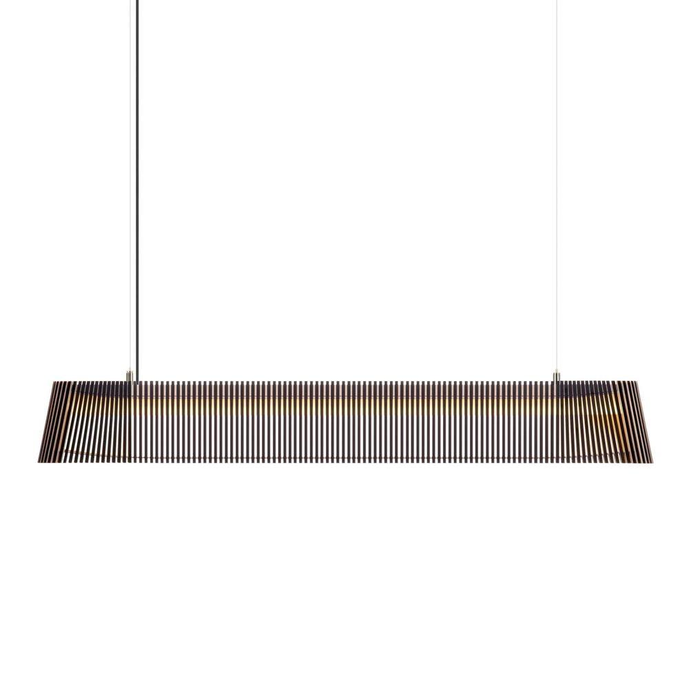 LED Pendelleuchte Owalo 7000 aus Holz 100cm 1